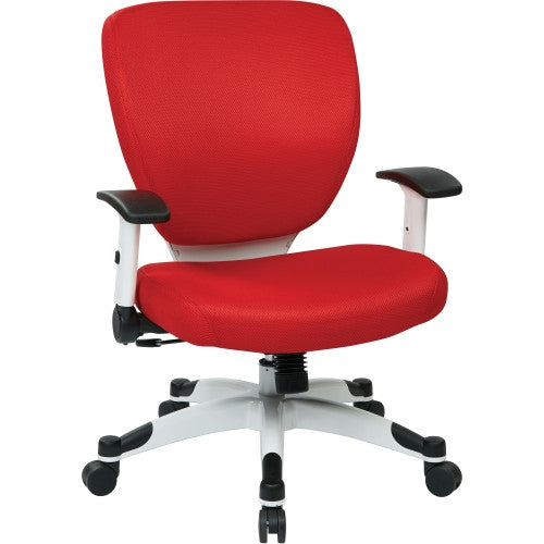Office Star Deluxe Task Chair - Bright Red, (OSP5200W-9)