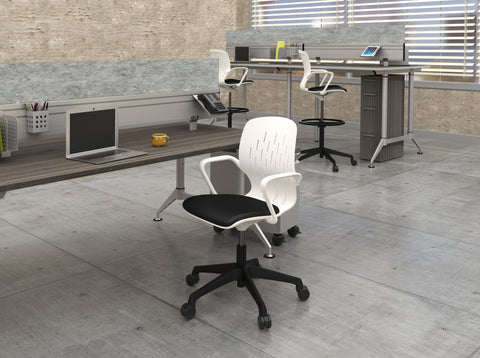 Safco Products Shell™ Desk Chair 7013WH Image 4