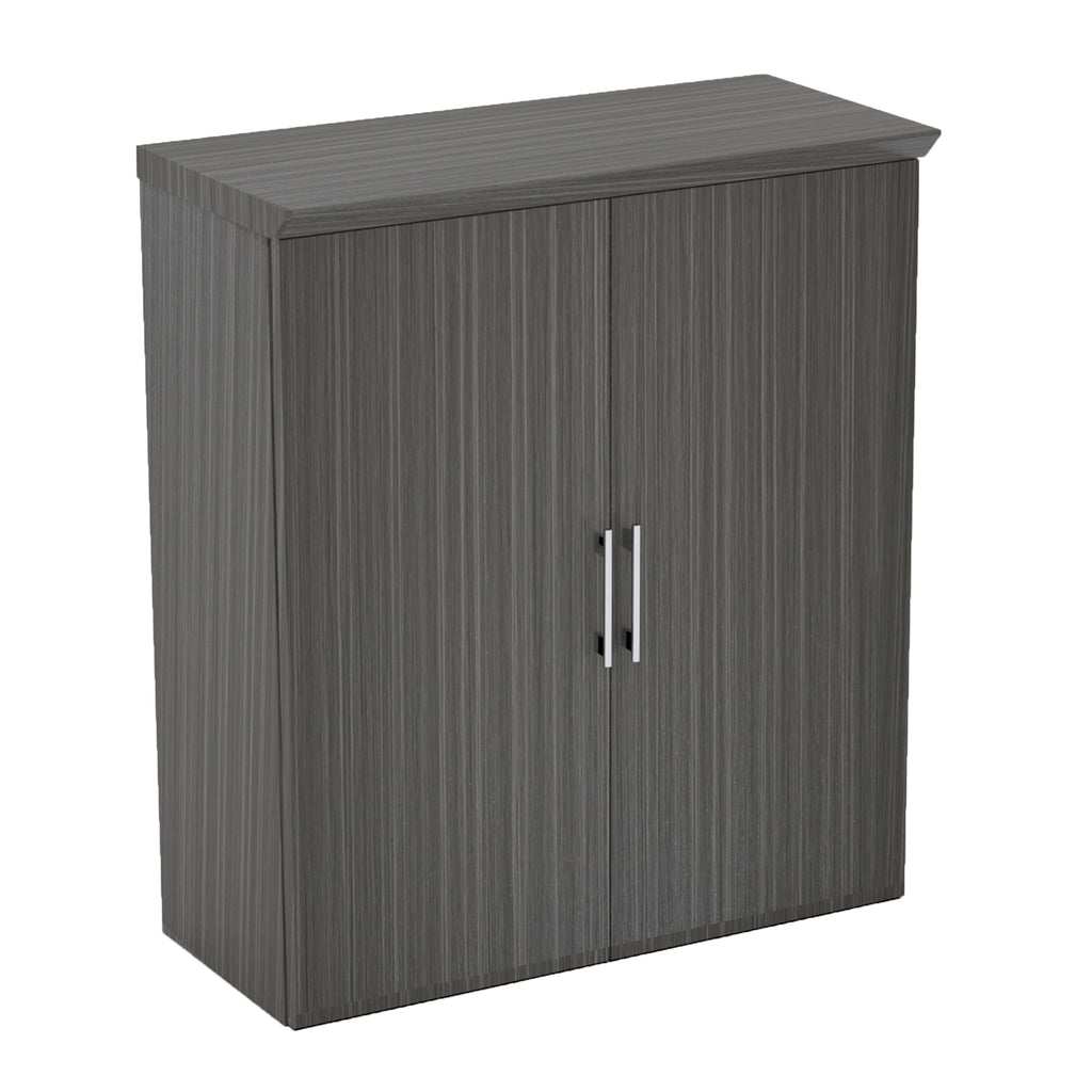 Safco Products Sterling Storage Cabinet with Wood Doors STSCWDTDW(Image 1)