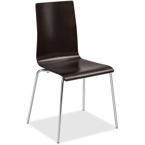 Safco Bosk Stack Chair SAF4298ES, Brown (UPC:073555429824)