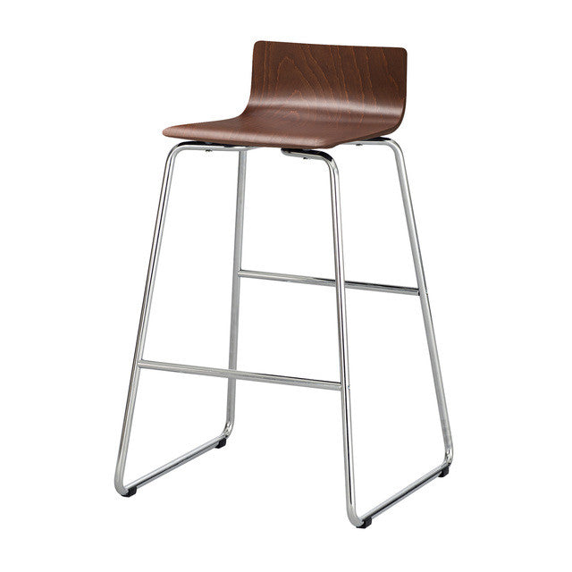 Safco Bosk Wood Stool SAF4299CY, Cherry (UPC:073555429916)