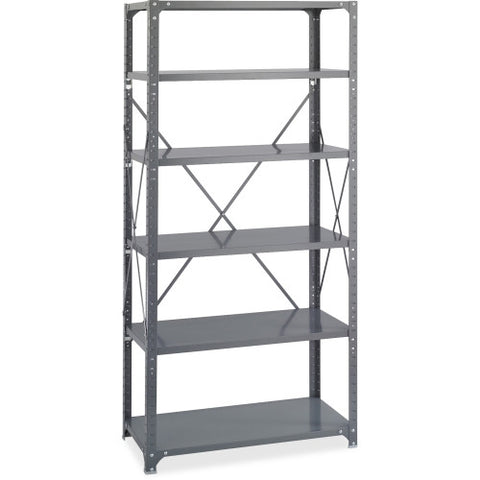 Safco Commercial Shelf Kit SAF6270, Gray (UPC:073555627008)