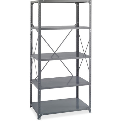 Safco Commercial Shelf Kit SAF6267, Gray (UPC:073555626704)