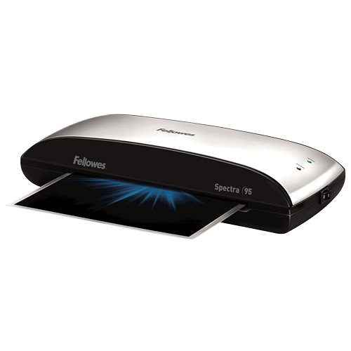 Fellowes Spectra 95 Laminator with Pouch Starter Kit ; UPC 043859680290