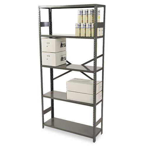 Tennsco ESP Commercial Shelving TNNESP1236MGY, Gray (UPC:447671096701)