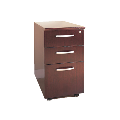 Safco Products Veneer Mobile Pedestal, Box/Box/File VBBFCRY(Image 2)