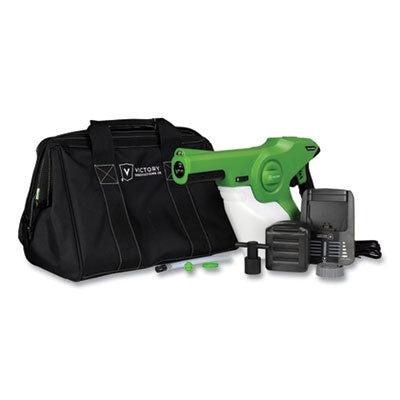 Victory Cordless E-static Handheld Sprayer with Carrying bag and charging accessories