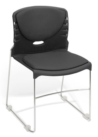 OFM 320-F-805 Stack Chair with Fabric Seat and Back ; UPC: 811588013951 ; Image 1