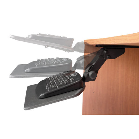 Bush Accessories Articulating Keyboard Tray Kit - HAT, ACHAT99801K ; UPC: 042976494728 ; Image 2