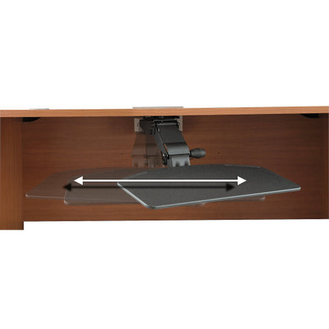 Bush Accessories Articulating Keyboard Tray Kit - HAT, ACHAT99801K ; UPC: 042976494728 ; Image 4