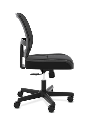 HON ValuTask Task Chair, Mesh Back Computer Chair for Office Desk, Black (HVL205) ; UPC: 089191179368 ; Image 4