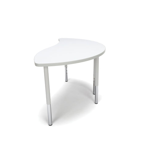 OFM Adapt Series Ying Standard Table - 23-31? Height Adjustable Desk, White (YING-LL) ; UPC: 845123096451 ; Image 4
