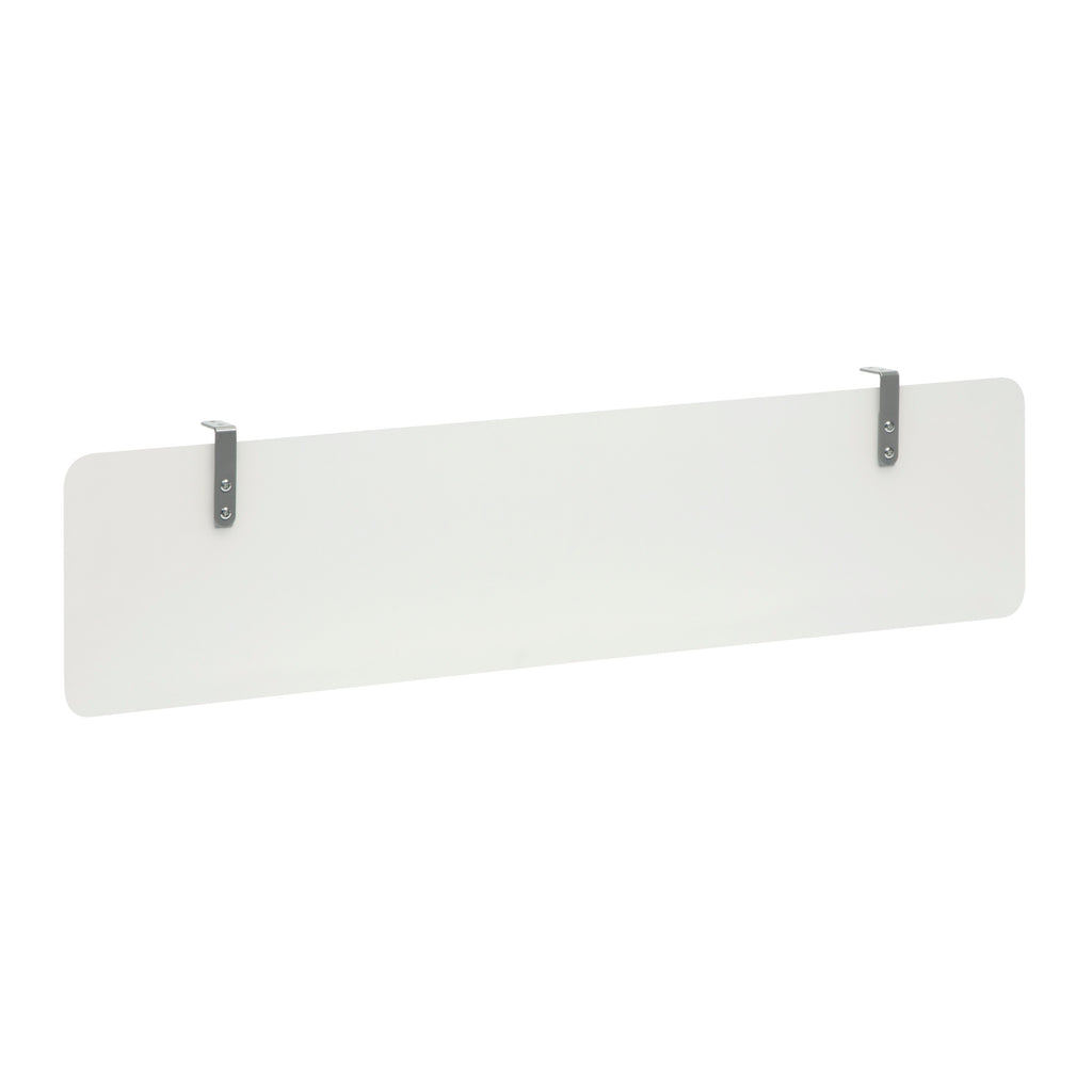 "OFM's Fulcrum Series 60"" Frosted Plastic Modesty Panel, Hanging Privacy Panel (CL-MP60-66) ; UPC: 845123097724 ; Image 1"