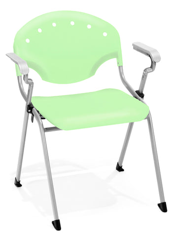 OFM Core Collection Model 306 Rico Stack Chair with Arms ; UPC: 811588013692 ; Image 1