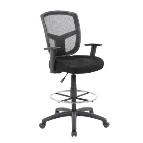 Boss Contract Mesh Drafting Stool ; UPC:751118160215