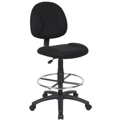 Boss Drafting Stool (B315-Bk) W/Footring ; UPC:751118161519