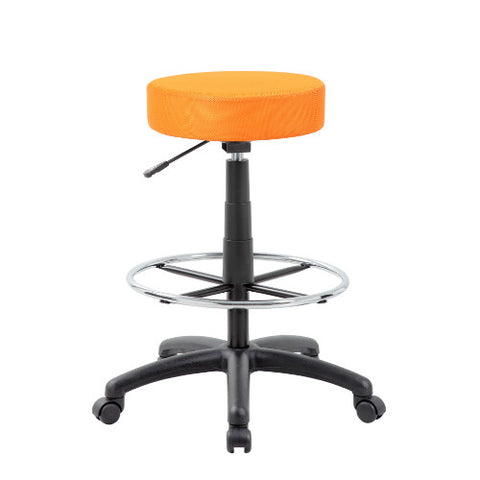 The DOT drafting stool, Orange ; UPC:751118210989
