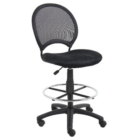 Boss Mesh Drafting Stool ; UPC:751118162158