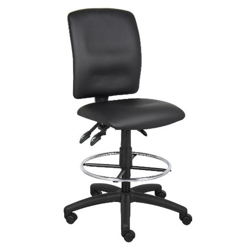 Boss Multi-Function LeatherPlus Drafting Stool ; UPC:751118164503