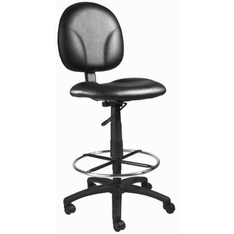 Boss Black Caressoft Drafting Stools W/Footring ; UPC:751118169089