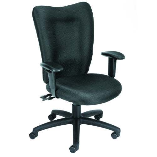Boss Black Task Chair With 3 Paddle Mechanism ; UPC:751118200713