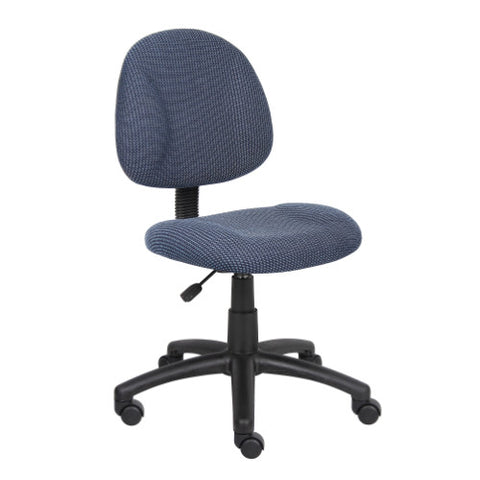 Boss Blue  Deluxe Posture Chair ; UPC:751118031539
