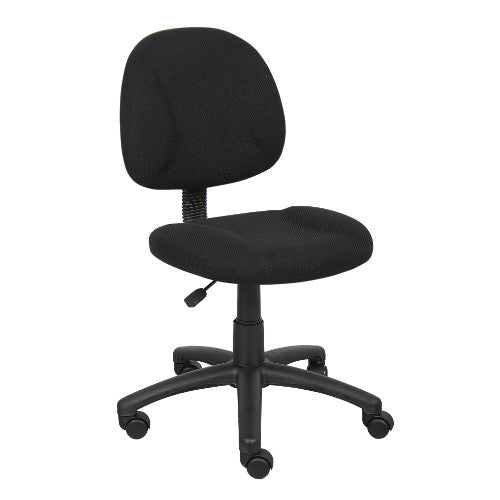 Boss Black  Deluxe Posture Chair ; UPC:751118031515