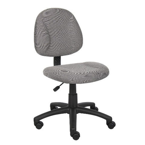 Boss Grey  Deluxe Posture Chair ; UPC:751118031522