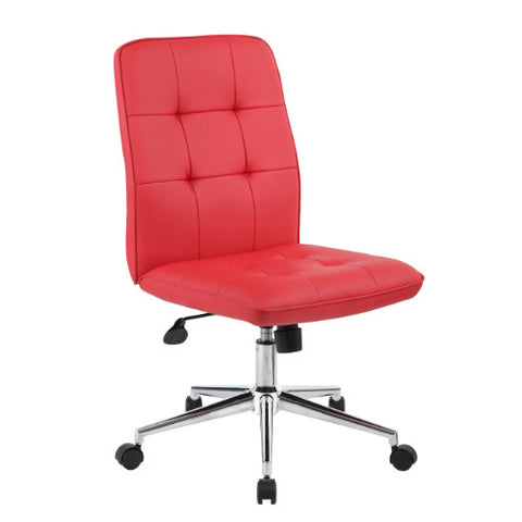 Boss Modern Office Chair - Red ; UPC:751118330199