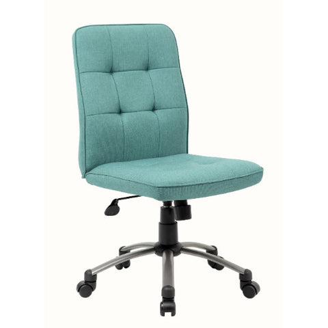 Modern Office Chair - Green ; UPC:751118330120