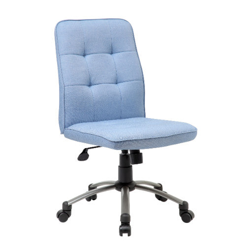 Modern Office Chair - Light Blue ; UPC:751118330038