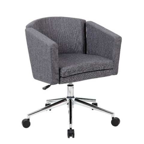 Boss Metro Club Desk Chair - Slate Grey ; UPC:751118416022