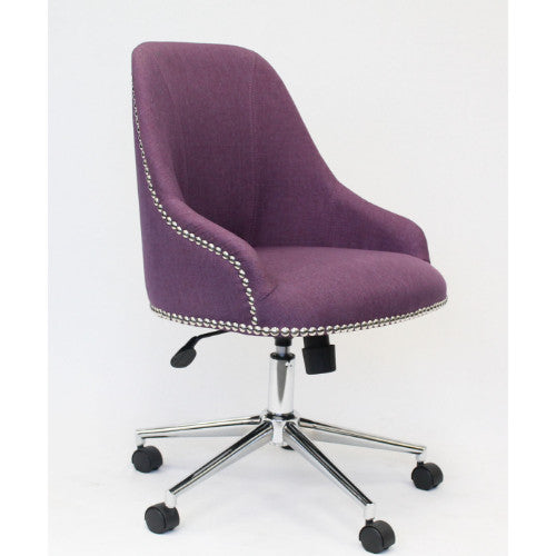 Boss Carnegie Desk Chair - Purple ; UPC:751118516234