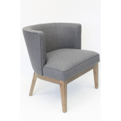 Boss Ava Accent Chair - Slate Grey ; UPC:751118529333