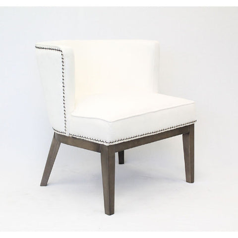 Boss Ava Accent Chair - White ; UPC:751118529357