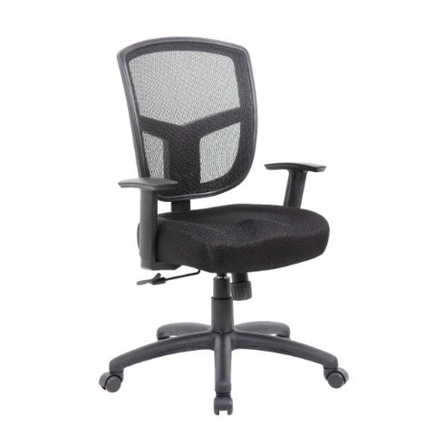 Boss Contract Mesh Task Chair,  Synchro-Tilt Mechanism ; UPC:751118602210