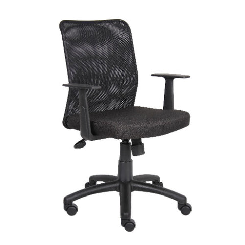 Boss Budget Mesh Task Chair W/ T-Arms ; UPC:751118610611