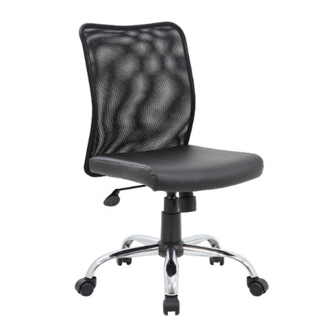 Boss Budget Mesh Task Chair w/ Chrome Base ; UPC:751118611687