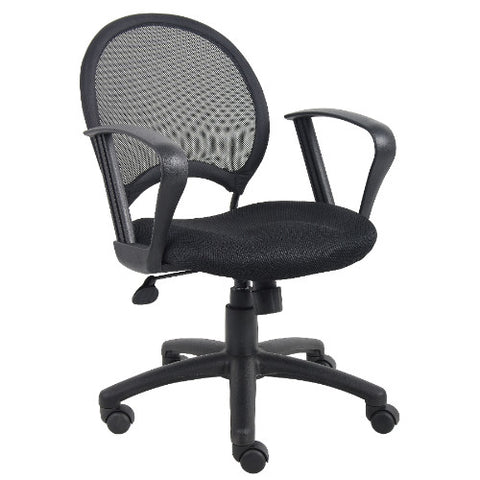 Boss Mesh Chair With Loop Arms ; UPC:751118621716
