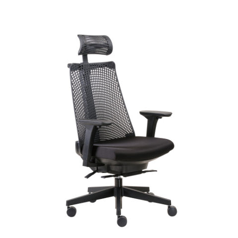 Boss Contemporary Executive Chair with Headrest ; UPC:751118501513