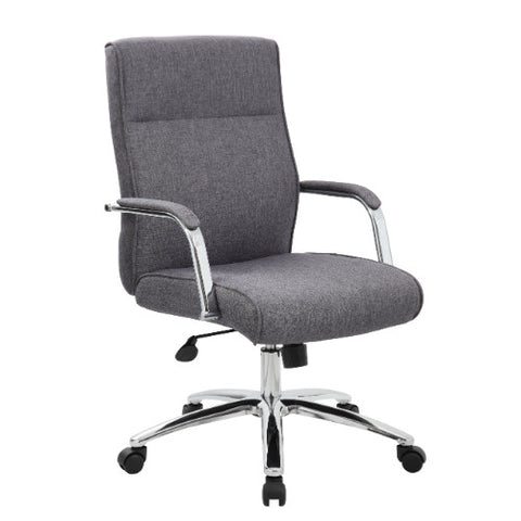 Boss Modern Executive Conference Chair - Grey ; UPC:751118069624