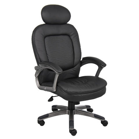 Boss Executive Pillow Top Chair W/ Headrest ; UPC:751118710113