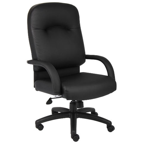 Boss High Back Caressoft Chair In Black ; UPC:751118740110