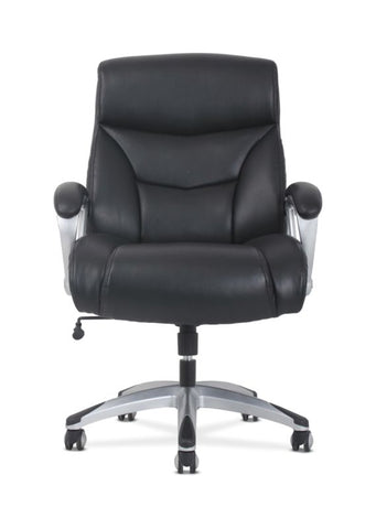 Sadie Big & Tall High-Back Executive Chair | Black Leather ; UPC: 888206724773 ; Image 5