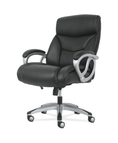 Sadie Big & Tall High-Back Executive Chair | Black Leather ; UPC: 888206724773 ; Image 2