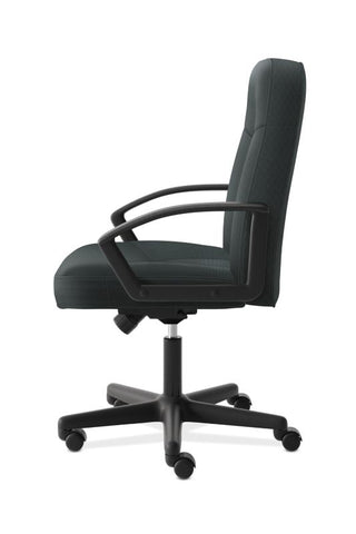 HON High-Back Executive Chair | Center-Tilt, Tension, Lock | Fixed Arms | Charcoal Fabric ; UPC: 782986172819 ; Image 4