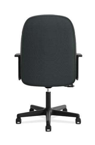 HON High-Back Executive Chair | Center-Tilt, Tension, Lock | Fixed Arms | Charcoal Fabric ; UPC: 782986172819 ; Image 5