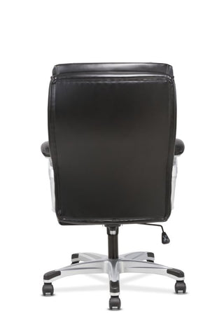 Sadie Executive Chair | Fixed Arms | Black Leather ; UPC: 191734204267 ; Image 6