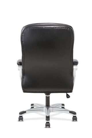 HON Executive Chair | Fixed Arms | Black Leather ; UPC: 191734204281 ; Image 6