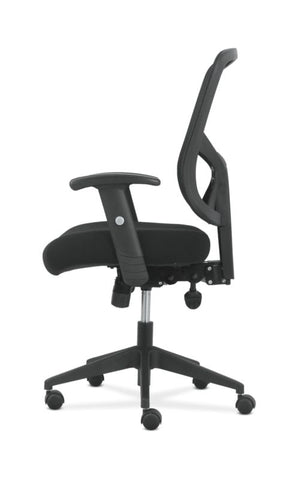 Sadie High-Back Task Chair | Height Adjustable Arms | Height Adjustable Back | Black Mesh Back ; UPC: 089192390885 ; Image 4